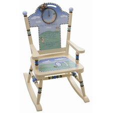 <strong>Levels of Discovery</strong> Nursery Rhyme Kid's Rocking Chair