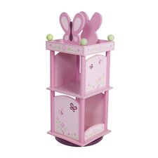 "Sugar Plum Revolving 35.5"" Bookcase"