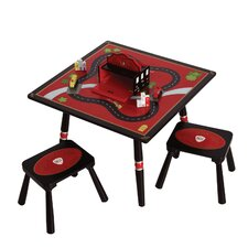 <strong>Levels of Discovery</strong> Firefighter Kids' 3 Piece Table and Stool Set