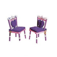 Princess Kid's Desk Chair (Set of 2)