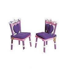 Princess Kid's Desk Chair (Set of 2)