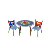 Owls Kids' 3 Piece Table and Chair Set