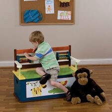 Jungle Jingle Kid's Storage Bench