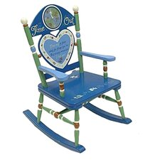 Rock A Buddies Time Out Boy Rocking Chair