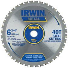 "Irwin - Metal Cutting Circular Saw Blades 7 1/4""  48T Mc - Ferroussteel Bulk: 585-4935556 - 7 1/4""  48t mc - ferroussteel bulk"
