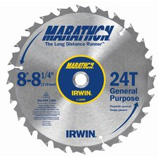 "8"" 24T Marathon® Miter & Table Saw Blades"