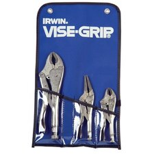 Locking Pliers Sets - 7 pc tool set in kit bag