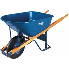 Jackson® Contractors Wheelbarrows - jackson 6 cu. ft. wheelbarrow folded steel tray
