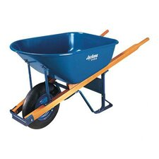 <strong>Jackson Professional Tools</strong> Jackson® Contractors Wheelbarrows - wheelbarrow 6 cu ft steel flat free wheel