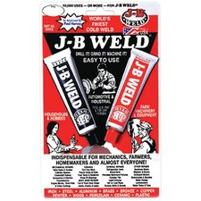 Cold Weld Compounds - j-b weld skin card