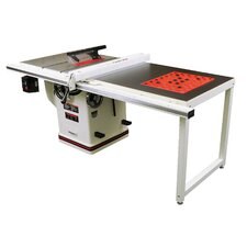 "Deluxe Xacta 14.5 Amp 3 HP 230 V Single Phase 10"" Blade Diameter Saw with Downdraft Table and Leg Set"