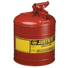 Justrite - Type I Safety Cans 2G/7.5L Safe Can Red: 400-7120100 - 2g/7.5l safe can red