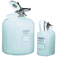 Self-Close Corrosive Containers for Laboratories - 1 gal acid cont