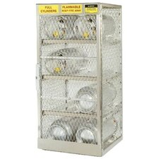 Aluminum Cylinder Lockers - horizontal 12 cylinderlocker