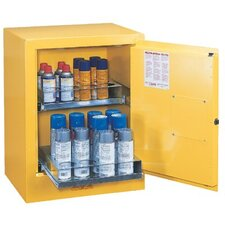"27"" H x 21"" W x 18"" D Sure-Grip® EX Aerosol Can Safety Cabinet"