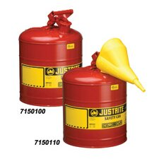 Gallon Red Steel Type I Safety Can