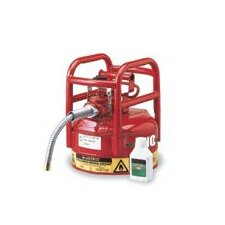 "Gallon Red UNO™ D.O.T. Type II Safety Can For Flammables With 5/8"" Hose"