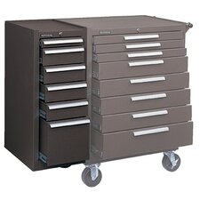 "13.625"" Wide 6 Drawer Side Cabinet"