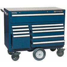 "43.75"" Wide 10 Drawer Bottom Cabinet"