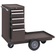 <strong>Kennedy</strong> Versa-Carts® - 10412 versa-cart tool cart 5-drw tool box brown