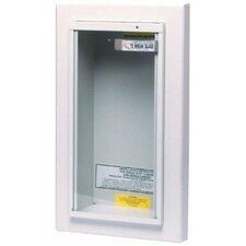 Kidde - Extinguisher Cabinets 10Lb Semi-Recessed Cabinet: 408-468045 - 10lb semi-recessed cabinet