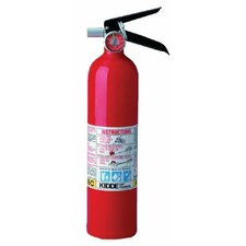 <strong>Kidde</strong> ProLine™ Multi-Purpose Dry Chemical Fire Extinguishers - ABC Type - 2.6lb. tri-class dry chemical fire extinguisher
