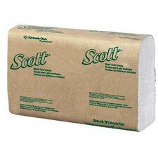 <strong>Kimberly-Clark</strong> Kimberly-Clark Professional - Scott Towels Scott 100% Rf C-Fold Hand Towels Case/12: 412-02920 - scott 100% rf c-fold hand towels case/12