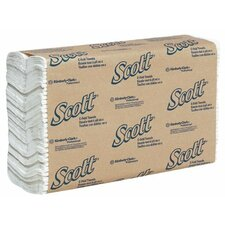 "<strong>Kimberly-Clark</strong> Scott® Towels - scott c-fold towels white 10.125""x13.15 (200/pkg"