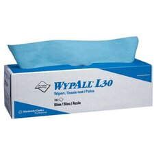 WypAll® L30 Wipers - wypall l30 economizer wipers blue 8 boxes/case