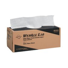 "WypAll® L10 Utility Wipes - 12""x10.5"" 2-ply utility-wipes disposable"