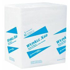 "WypAll® X60 Wipers - wypall x60 teri wiper 13""x13.5""white 76/roll"