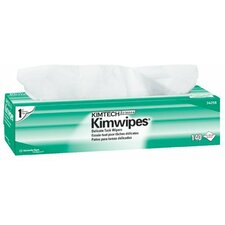 "Kimtech Science® Kimwipes® Delicate Task Wipers - 15""x17"" kimwipes ex-l wipes white (1 Case of 15 Cartons)"