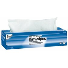 "Kimtech Science® Kimwipes® Delicate Task Wipers - 15""x17"" 2-ply kaydry ex-l delicate task wipers"