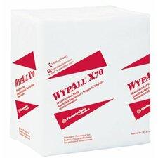 WypAll® X70 Workhorse® Rags - wypall x70 workhorse rags 1/4 fold white 76/pkg
