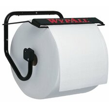 WypAll® Jumbo Wiper Dispensers - black wypall jumbo wiperwall mount dispenser