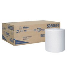 X 600 White KLEENEX® Hard Roll Towels (600 Per Roll)