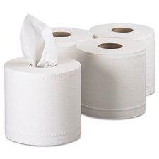 Professional Scott Center 2-Ply Paper Towels - 500 Sheets per Roll / 4 Rolls per Carton