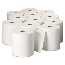 Professional Kleenex Hard Roll 1-Ply Paper Towels - 12 Rolls per Carton