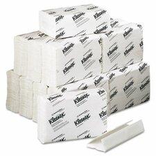 Professional Kleenex C-Fold 1-Ply Paper Towels - 150 Sheets per Roll / 16 Rolls per Carton