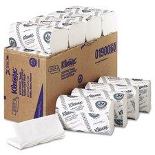 Professional Kleenex Scottfold 1-Ply Paper Towels - 120 Towels per Pack / 25 Rolls per Carton