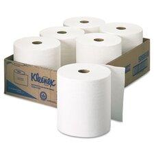Professional Kleenex 1-Ply Paper Towels - 6 Rolls per Carton
