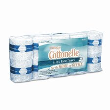 Professional Kleenex Cottonelle 2-Ply Toilet Paper - 506 Sheets per Roll / 10 Rolls