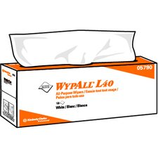 Wypall L40 Wipers - 100 Wipes per Box