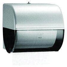 In-Sight Omni Roll Towel Dispenser in Smoke / Gray