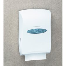 In-Sight Universal Towel Dispenser in White
