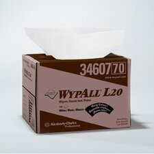 Wypall L20 Wipers Brag Box in White