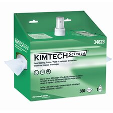 Kimtech Science Lens Cleaning Station Wipers - 16 Oz / 1120 Wipers per Box