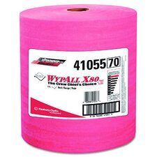 WypAll® X80 Wipers - 475 Wipes per Roll