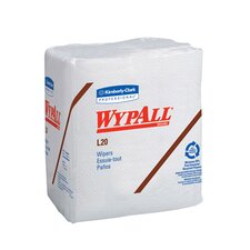Wypall L20 Wipers quarter fold in White