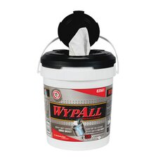 Wypall Wipers in a Refillable Bucket in White